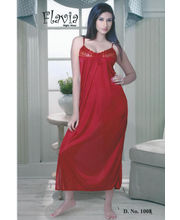 Flavia One Piece Diva Nightwear (Red)