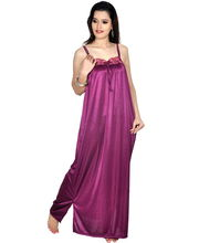 Myra Women Night Dress TS563MAJ, Maroon, Xl