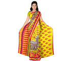 Designer Art Silk Saree With Unstitched Blouse - 30564-YL, yellow
