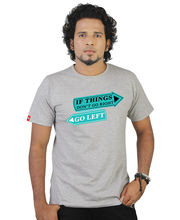 Tekki-If Things DonT Go Right Round Neck T Shirt-Tki097