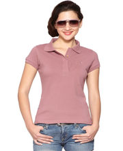 Do U Speak Green Star Classic Women'S Basic Polo Organic T-Shirt - DUSG155N, Pink, Xl