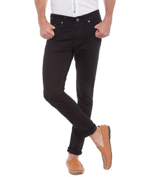 Ultra Slim Low Rise Tight Fit Jeans,  black, 30