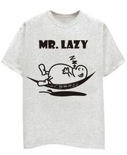Champu Mr. Lazy Men's T-Shirt CHMP_ MT_ 79, Grey, L