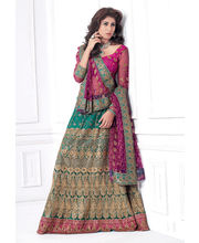 Hypnotex Cotton Designer Lengha Choli XLNC8005C, Multicolor