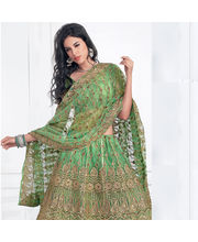 Hypnotex Cotton Designer Lengha Choli XLNC8004A, Multicolor