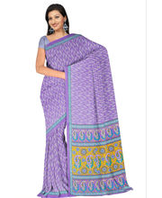 Designer Art Silk Saree With Unstitched Blouse - 29265-VL, purple