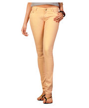 Fungus Women Denim Jeans - FJL-045, Bisque, 26