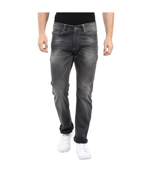 Slim Tapered Fit Jeans, 30,  grey
