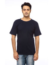 Delhi Seven Round Neck T-shirt - DOD-TS-106, Black, Xl