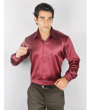 Brand New Stori Shirt for Men - RAVEN-K-107E, maroon,...