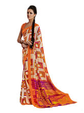 Good Karma Georgette Sarees - SULT5005, multicolor