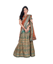 Hypnotex Cotton Designer Lengha Choli XLNC8001C, Multicolor