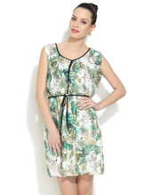 Chemistry Its a Jungle Out There Dress, white, l