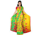 Designer Art Silk Saree With Unstitched Blouse - 30342-YL, yellow