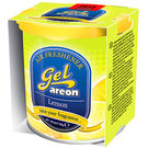Areon Gel Car Air Freshener Car Perfume-Lemon, standard-yellow