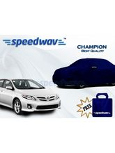 Speedwav Car Body Cover Toyota Corolla - Champion (Best Quality), royal blue