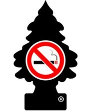 Little Trees - No Smoking ,hanging perfume(Pack of 3) (Black)