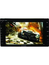 Xenos ORCA A 2 Din DVD Player with Navigation, black