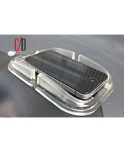FloMaster-AntiSkid Powerful Iphone/Multipurpose Dashboard Holder, clear