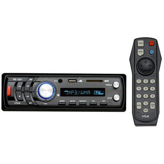 VOX Car Stereo with FM, MP3, USB, SD Card Support (Black)