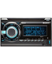 Sony Xplod WX-GT99BT CD/MP3/WMA/AAC/Tuner player with App Remote feature, front USB, iPod ControiPod In-Car Head Unit