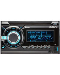 Sony Xplod WX-GT99BT CD / MP3 Player with USB and Bluetooth & sub woofer out