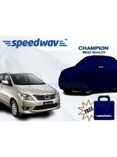 Speedwav Car Body Cover Toyota Innova New - Champion (Best Quality), royal blue