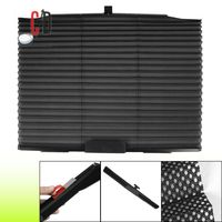FloMaster-Autofolding Sunshade Car Mesh Type Curtain,  black