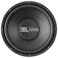 JBL CS-1200 SI 12 Inch Car Audio Subwoofer Speakers (1200 Watt), multicolor