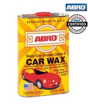 ABRO Silicon Cleaner & Car Wax SW-300 (473 ml), multicolor