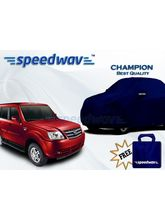 Speedwav Car Body Cover Tata Sumo Grande - Champion (Best Quality), royal blue