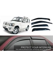 Mahindra Scorpio Door Rain Visor ( Set of 6...