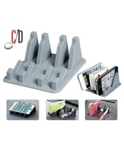 FloMaster- Silicone AntiSlip Mobile/Pen/Multipurpose Holder, grey