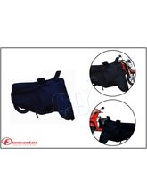 Flomaster Black Body Cover including Mirror Pockets Bike/Scooter(Fits to All)