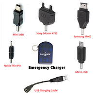 Callmate USB & 5 in 1 Emergency Charger