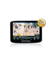 Mapmyindia Zx350 GPS Navigation Device With Car Reverse Camera Support