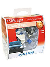 Philips X-Treme Vision Head Light H4 Bulb ,12V 60/55W (Set) (Multicolor)