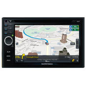 MapmyIndia ICENAV 701 Android Car IN-Dash Stereo With Navigation,  black