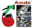 Accedre - 10 Meter Hose Pipe Water Spray Gun for Cars & Bikes, multicolor