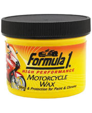 Formula 1 Motorcycle Wax Polish 114 gms (Yellow)