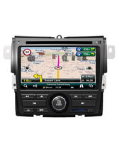 MapMyIndia In-Dash Car Navigation & Entertainment System for Honda City, black