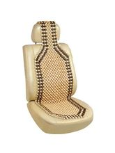 FloMaster-Car Acupressure Wooden Seat Beads For Car & Office