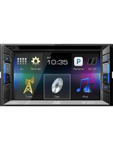 JVC KW-V11 Car DVD/CD/USB Receiver With 6.2-inches Wvga Touch Panel Monitor, black