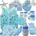 Baby Feeding Bottle Nappy Set