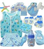 Baby Feeding Bottle Nappy Set (Multicolor)