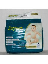 Baby Diapers Large Size 24pcs Pack Set Of 2 (White)