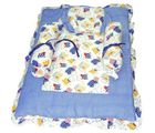 Blue & White Bedding Set (Multicolor)