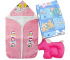 Baby Bag Wrapper Pillow Set (Multicolor)
