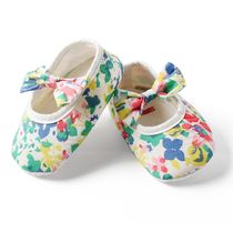 Dchica Floral Print Bow Shoes, multicolor