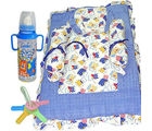 Baby Bottle Tether Bedding Set (Multicolor)